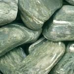 Bolos de piedra Angel verde