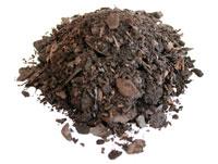 Compost de corteza de pino