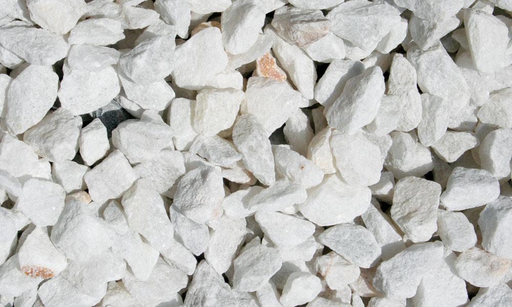 Piedra blanca para jardin todo piedra venta de piedras for Piedra blanca jardin